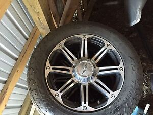 "20"" 5x150 Eagle Alloy Rims"