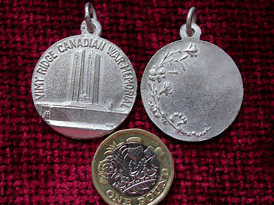 Replica Copy Vimy Ridge Canadian War Memorial Medal