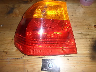 Bmw E46 Saloon N/S/R Passenger side Rear Light Unit/Lens,98-01