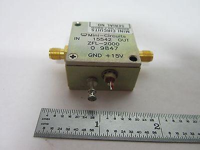 Mini Circuits Rf Amplifier Frequency Zfl-2000 Bink1-13