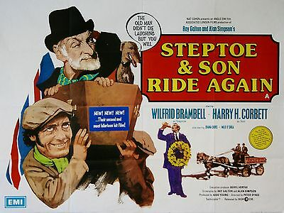 "Steptoe and Son Ride Again 16"" x 12"" Reproduction Movie Poster Photograph 2"