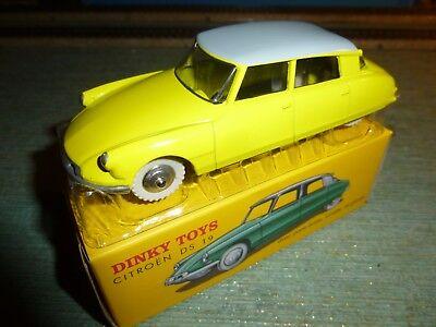 Dinky Atlas Citroen DS jaune pneus crantés