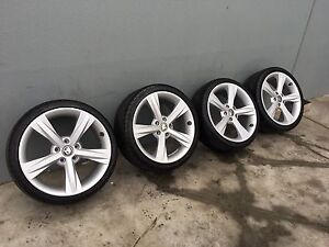"19"" VZ club sport wheels and tyres,vy,vt,vx,ve,vf,hsv Somerton Hume Area Preview"