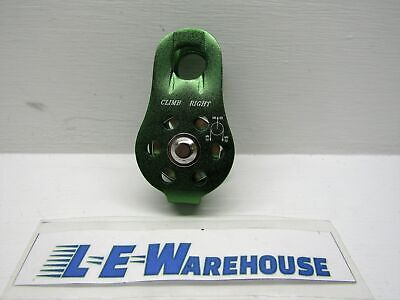Climb Right Fixed Side Pulley - 12 Cap - 20kn - Green
