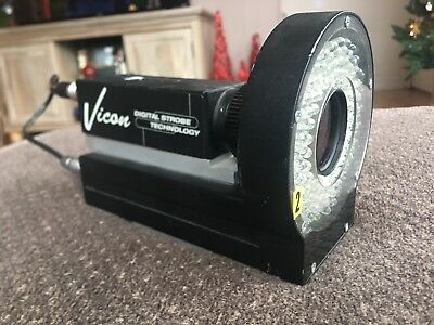 Oxford Metrics Vicon Motion Capture Digital Strobe Technology Camera