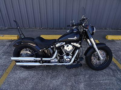 Harley Davidson  2011 13 Blackline     2012 17 Softail Slim Custom Sissy Bar