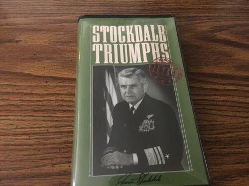Stockdale Triumphs a Return to Vietnam James Stockdale POW VHS Tape