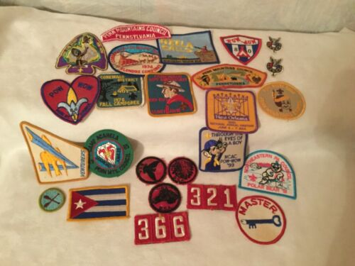 LOT / GROUP of 25  PATCHES -  . Boy Scout BSA