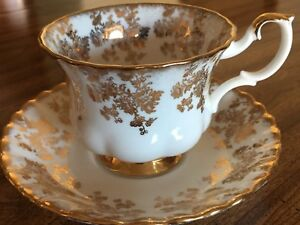 ROYAL ALBERT BONE CHINA, CUPS AND SAUCERS