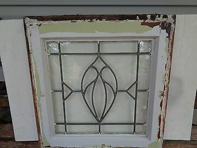 antique vintage leaded english glass rare design - English Leaded Antique