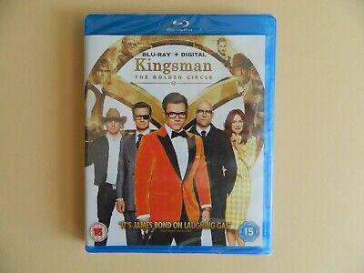 Kingsman The Golden Circle Blu-Ray - Taron Egerton Colin Firth Mark Strong