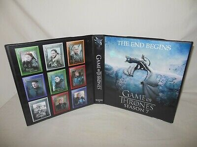 Custom Made Game of Thrones Season 7 Trading Card Binder Graphics Only