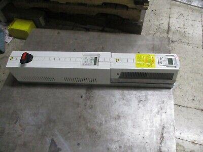 ABB ACH550 AC Drive w/ Bypass ACH550-VDR-015A-4 10HP 3Ph Input: 380-480V Used