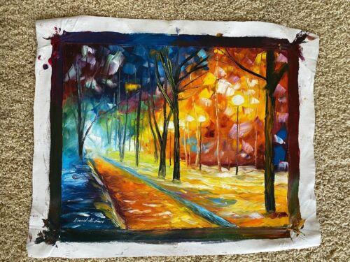 Original Leonid Afremov Oil Painting - titled
