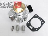 OBX Polished Throttle Body For 92-00 Honda Civic 65mm SOHC D15B2 D16Z D16Y
