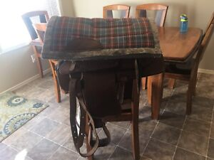 Youth/child saddle with pad