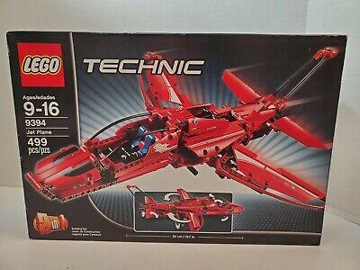 LEGO Technic Jet Plane 9394 New in Open Box Retired READ!