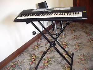 Yamaha 5 octave keyboard with stand and manual Ballarat Central Ballarat City Preview