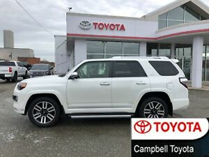 2014 Toyota 4Runner LIMITED--7 PASS--BROWN LEATHER--MOON ROOF--N