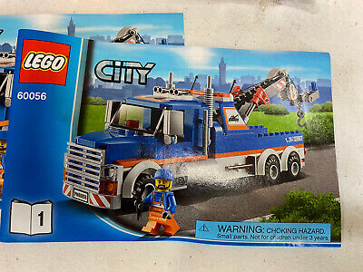 lego city tow truck 60056 Used No Box