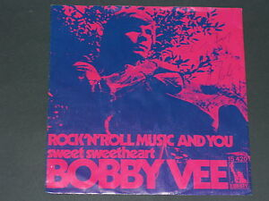 7-Single-70er-BOBBY VEE-Rock'n Roll Music and you - Wien, Österreich - 7-Single-70er-BOBBY VEE-Rock'n Roll Music and you - Wien, Österreich