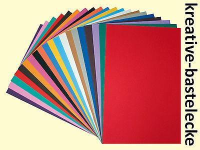 Moosgummi Platten Set - 30x40 cm - 20 Platten 20 Farben