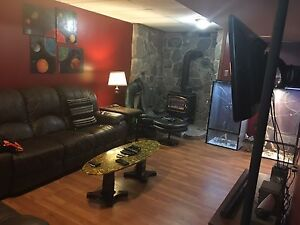 Large Basement apartment for rent