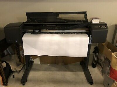 Hp Designjet 800 Large 42 Printer Plotter As Is