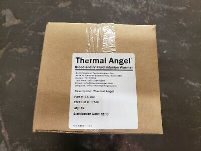 New Case Of 10 Estill Thermal Angel Blood Iv Fluid Infusion Warmer Ta-200