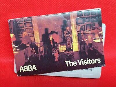 ABBA - The Visitors (1981) Cassette RARE (VG+)