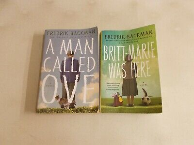 2 FREDRIK BACKMAN A MAN CALLED OVE and BRITT-MARIE WAS HERE TRADE PAPERBACK