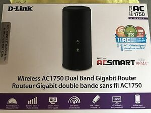 Wireless Router | D-Link AC1750 Dual Band Gigabit