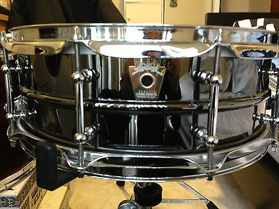 Ludwig Black Beauty 5x14 Brass Snare Drum Tube Lugs