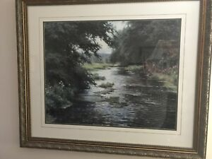 Scenic Glass Framed Print