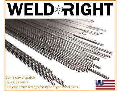 Stainless Steel ER316L SS Tig Filler Welding Rods - 1/16's - 1.6mm x 10-100 Qty