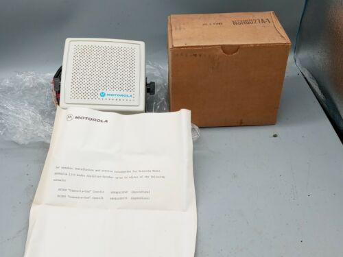 1 NOS  Motorola NSN6027A-1 Two-Way Two Way Radio Speaker 12-W AUDIO AMP