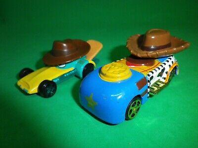 Disney Racers, 2 Autos aus Metall, Woody aus Toy Story + Perry das Schnabeltier