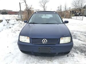 Jetta TDI 2004 Diesel wagon familiale manual sunroof BEW