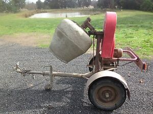 Cement mixer trailer Gisborne Macedon Ranges Preview