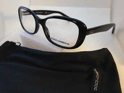 DOLCE GABBANA D&G 1247 501 Eyeglasses Optical Frames Glasses Black (Dolce Gabbana Optical Frames)