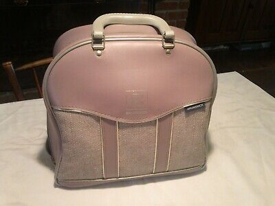 Amazing Vintage Brunswick Lavender And Tweed Bowling Ball Bag