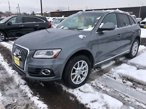 2014 Audi Q5 3.0L Progressive, Navigation, Leather, Diesel, AWD