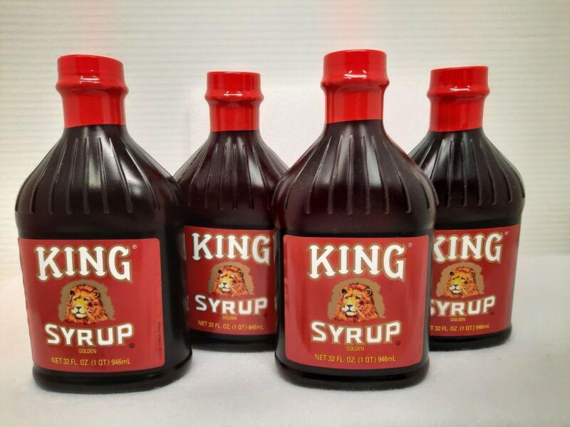 Kings Syrup 4 Bottles 32oz