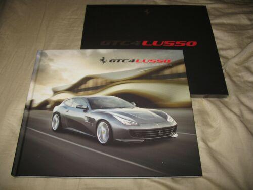 Ferrari GTC4 Lusso V12 hardcover prestige brochure with slipcase 5599/16