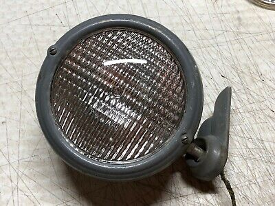 Original Vintage Ford Massey Ferguson Rear Tractor Fender Light Wing Mount Old 2
