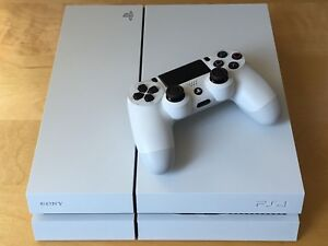 PlayStation 4 Glacier White 500 Gb