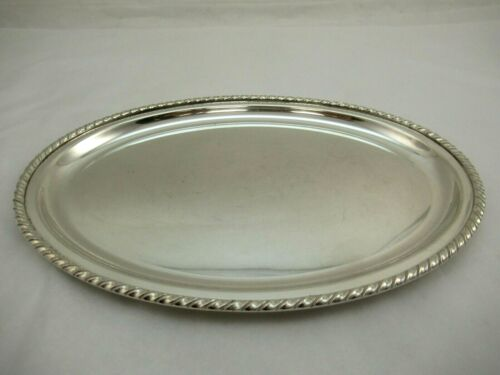 Sterling Silver 925 Tray Oval 283 grams