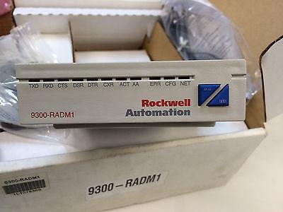Datafax Modem 9300-radm1rockwell Automation With Cord Rail Mounting Kit