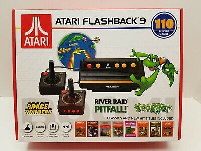 ATARI FLASHBACK 9 Console W/ 2 Controllers + 110 Built In Video Games NIB/SEALED