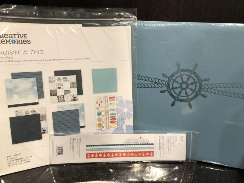 Creative Memories Cruising Along Album Theme Pack Borders Brand New
